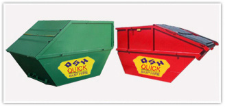 10 to 12 yard enclosed skip hire