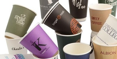 Paper cup and drink cartons